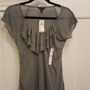 NWT Banana Republic Outlet Sage Green Top